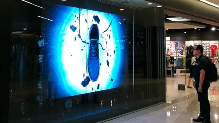 pantallas led en centros comerciales