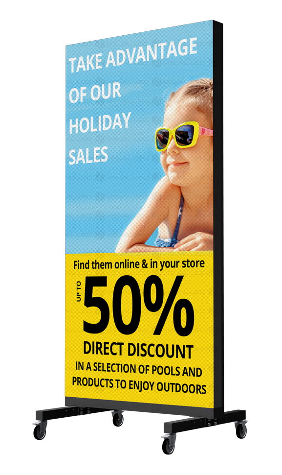 Poster Led Displays For Outdoor And Indoor Advertising